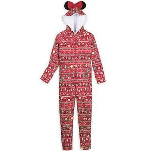 Mickey Mouse and Minnie Mouse Holiday Bodysuit NWT